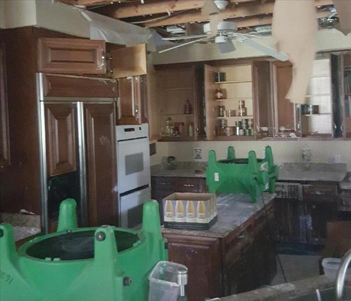 Break-In Causes Water Damage