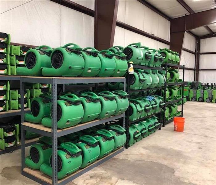 Water Damage Equipment in Jacksonville