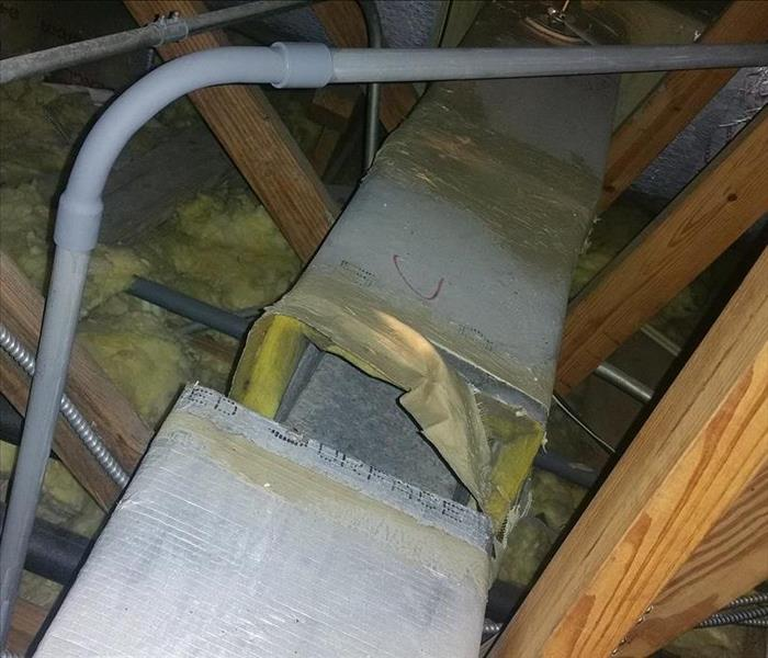 Moisture in Attic Leads to Mold Growth