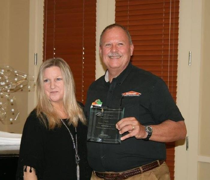 SERVPRO of The Beaches/Ponte Vedra Receives Award