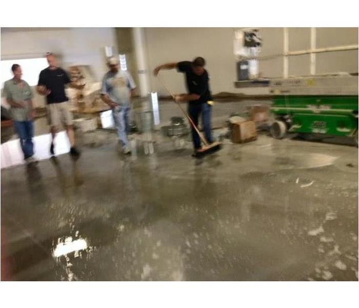 Commercial Getting Back to Work: Commercial Water Damage Restoration