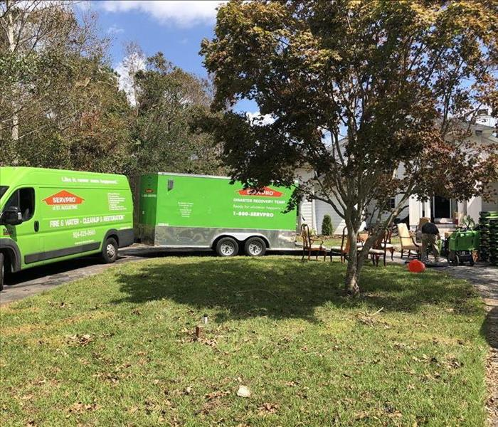 Why SERVPRO When Fire and Water Take Control, We Help Take it Back